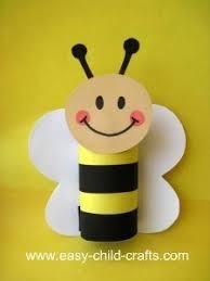 pszczolka z rolki od papieru na Stylowi.pl