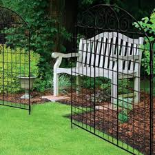 Unbranded Rockdale 41 9 In Black Steel Fence Gate 860251 The Home Depot