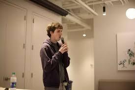 Is Adam D'Angelo (founder of Quora) walking in Mark Zuckerberg's ...