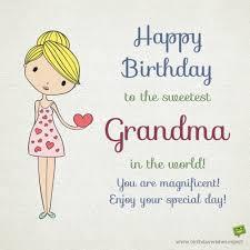 happy birthday grandma warm wishes