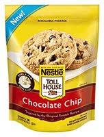 nestlé toll house frozen cookie dough
