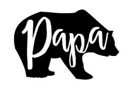 Papa Bear 3 Vinyl Decal Sticker For Beer Glass Cup Coffee Cup Tumbler Dad Ebay