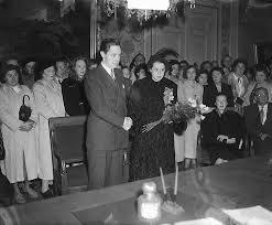 File:Huwelijk Myra Ward en Paul Steenbergen, Bestanddeelnr 904-2273.jpg -  Wikimedia Commons