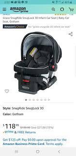 graco car seat for in gresham