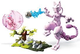 Mega Construx Pokemon Mew Vs. Mewtwo Clash [Mewvs. Mewtwo] $14.17 ...