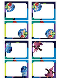 Inside Out Free Birthday Party Printables Inside Out Party Ideas