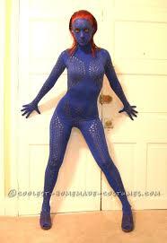 y homemade mystique costume from x men