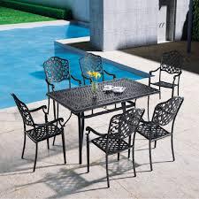 outdoor patio furniture cast aluminum