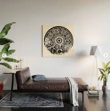 Zendreamsart On Twitter Mandalas Flowers Wood Wall Art Https T Co Naoidmsdey