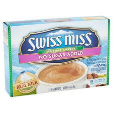 swiss miss hot chocolate no sugar