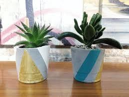 cement planter work fls teacups
