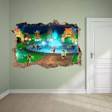 Roblox 3d Wall Decal Wall Sticker Wall Decor Wall Art Broken Etsy