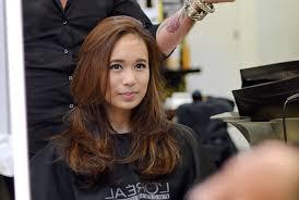 my personal l majirel hair design