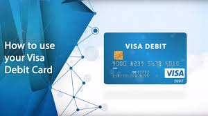 how to use your visa debit card you