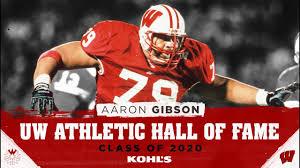UW Athletic Hall of Fame Class of 2020: Aaron Gibson - YouTube