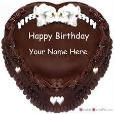 happy birthday chocolate cake picture