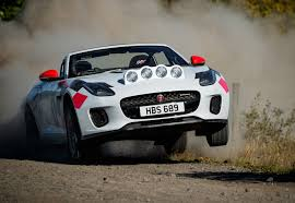 f type rally car celebrates 70 years of