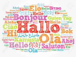 Hallo (Hello Greeting In German) Word Cloud In Different Languages.. Stock  Photo, Picture And Royalty Free Image. Image 114032131.
