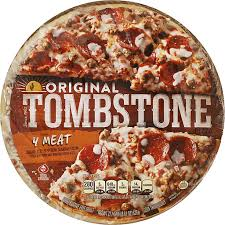 tombstone pizza original 4 meat the