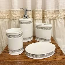 rhinestones bathroom accessories