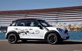 Flowered Swirl Girly Car Vinyl Side Graphics Car Sticker Decal Both Sides Ar512 Girly Car Car Stickers Car