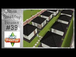 tiny town houses sims freeplay house