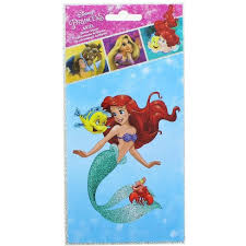 Alterego Disney Princess Ariel 4 X 8 Inch Glitter Decal Target