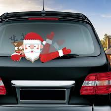 Car Wiper Christmas Decal Stickers Christmas Decals Car Wiper Window Decals