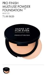 makeup forever profinish powder