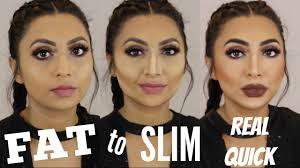 contour highlight tutorial fat to