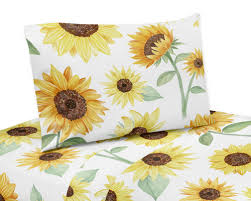 sunflower collection queen sheet set