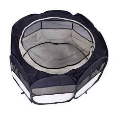 Shop 36 Inch Foldable 600d Oxford Cloth Mesh Pet Playpen Fence With Eight Panels Online From Best Pet Beds Furniture On Jd Com Global Site Joybuy Com