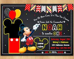 Invitacion De Mickey Mouse Mickey Invitar Invitacion De Convite