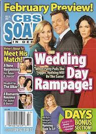 2-13-12 CBS Soaps In Depth GENIE FRANCIS-STACY HAIDUK | Soap Opera World
