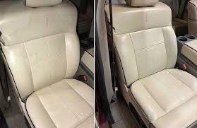leather seat car upholstery repair
