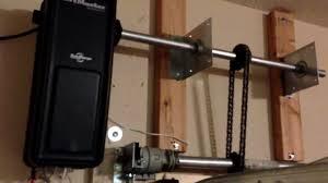 wall mount garage door opener