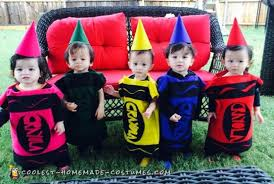 coolest 40 homemade crayon costumes