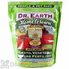 dr earth home grown tomato vegetable