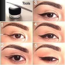 basic cat eye makeup tutorial blurmark
