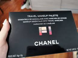 chanel travel make up palette health