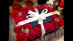 فكرة لتغليف هدية كرتون الورود Diy Youtube
