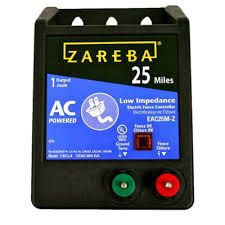 Zareba 25 Mile Ac Low Impedance Fence Charger Eac25m Z At Tractor Supply Co