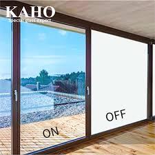 opaque glass electric smart lcd window