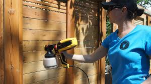 How To Seal And Stain A Fence With A Sprayer Diy Montreal