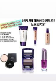 oriflame waterproof makeup kit