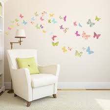 The Colorful Butterflies Wall Stickers Kids Room Wall Stickers Girl Bedroom Walls Wall Stickers Bedroom