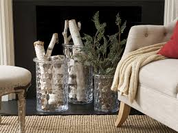 ideas for decorating an empty fireplace