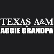 Shopcollegedepot Texas A M Aggie Grandpa Car Decal