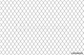 Creative Vector Illustration Of Chain Link Fence Wire Mesh Steel Metal Isolated On Transparent Background Art Design Gate Made Prison Barrier Secured Property Abstract Concept Graphic Element Buy This Stock Vector