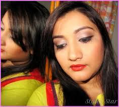 eye makeup for indian skin tone star